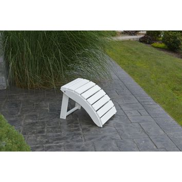 A&L Furniture Company Recycled Plastic Folding Ottoman  - Ships FREE in 5-7 Business days