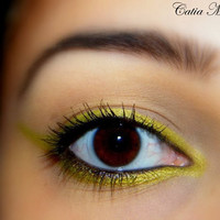 CHARTREUSE - Pure Mineral Makeup - Eye Liner and Eye Shadow