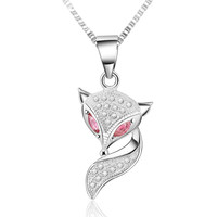 Fox 925 Sterling Silver Necklace