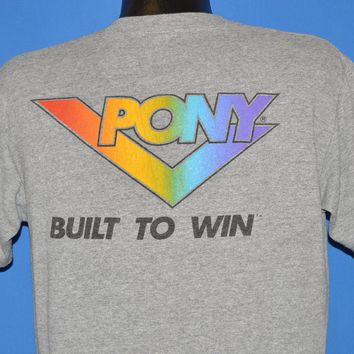 80s Pony Built To Win t-shirt Large