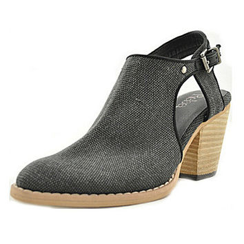 Reba Kicker Cut-Out Booties - Black