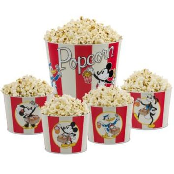 Mickey Mouse and Friends Popcorn Bucket Set -- 5-Pc. | Kitchen Essentials | Disney Store