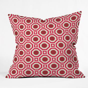 Caroline Okun Cayenne Throw Pillow