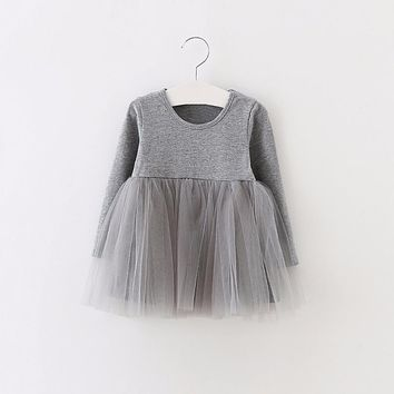 Sun Moon Kids dress for girls 100% cotton baby girl dress cute clothes newborn infant 1 year birthday dress bebes vestidos