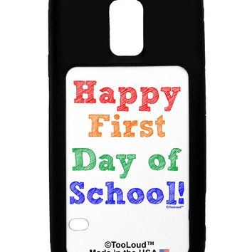 Happy First Day of School Galaxy S5 Case  by TooLoud