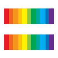 Gay Pride, LGBT, Equality Bars Tattoo Set