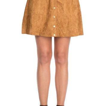 Rhoda Button-Up Skirt