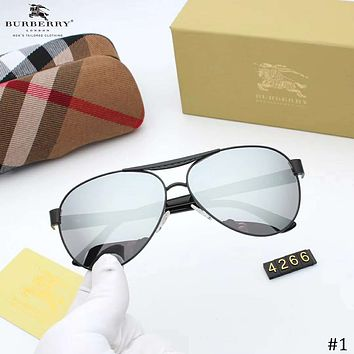 Burberry 2018 new couple models personality wild color film polarized sunglasses #3