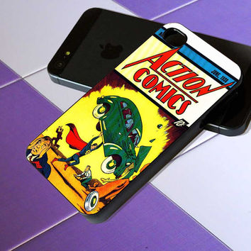 First Comic Book Appearance of Superman - iPhone 4 / iPhone 4S / iPhone 5 / Samsung S2 / Samsung S3 / Samsung S4 Case Cover