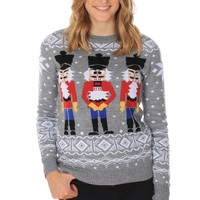 Women's Nutcracker Sweater | Tipsy Elves