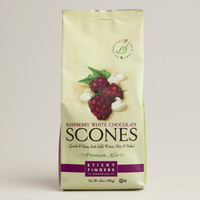 Sticky Fingers Bakeries Raspberry White Choco Scone Set of 6