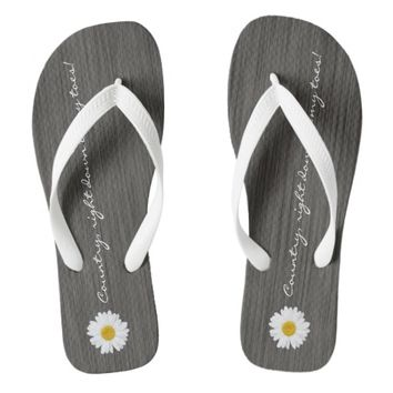 Country, Right Down to My Toes, Daisy Flip Flops
