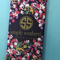 Simply Southern Iphone 6 Plus Case- Flowers