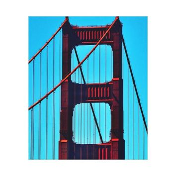 33 X 40 GOLDEN GATE BRIDGE CANVAS PRINT