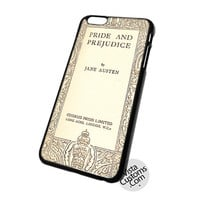 Book Cover Jane Austen & Prejudice Cell Phones Cases For Iphone, Ipad, Ipod, Samsung Galaxy, Note, Htc, Blackberry