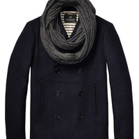 Classic Caban With Scarf - Scotch & Soda