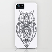O W L  iPhone Case by haleyivers | Society6