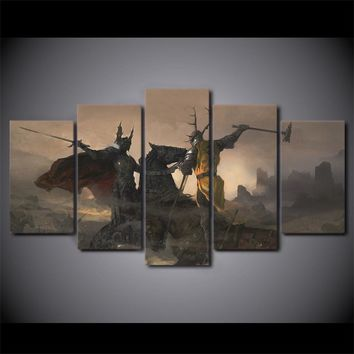 Game of Thrones Wall Art on Canvas  home decor TV game