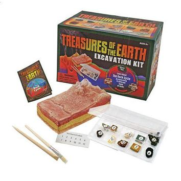 GeoCentral Treasures of the Earth Dig Kit