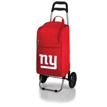New York Giants - Cart Cooler with Trolley (Red)
