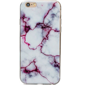 Unique Marble Grain iPhone 5s 6 6s Plus Case iPhone 7 7 Plus case + Free Gift Box