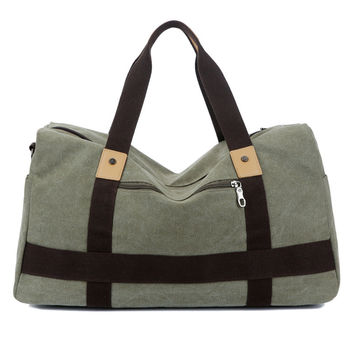 Canvas Shoulder Bag [10648211459]