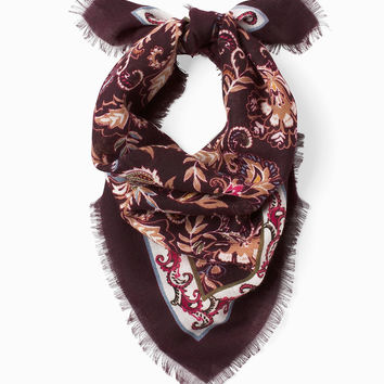 White House Black Market Printed Mini Scarf