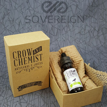 Crow and Chemist Jubilee CBD E-juice