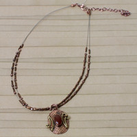 Ruby Tribal Necklace