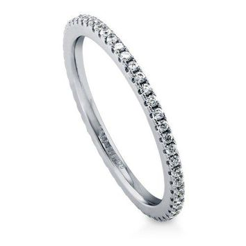 Full cz band,925 sterling silver micro pave cz three colors zirconia eternity band ring