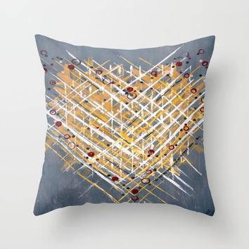 :: You Knit Me Together :: Throw Pillow by :: GaleStorm Artworks ::