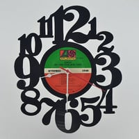 Vinyl Record Clock (artist is Genesis)