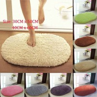 30*50cm 40*60cm Absorbent Soft Bedroom Bathroom Door Floor Non-slip Bath Mat Shower Rug STE