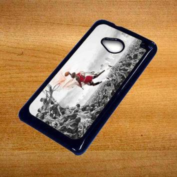 DCKL9 MICHAEL JORDAN new slam dunk For Htc One M7 Case *76*