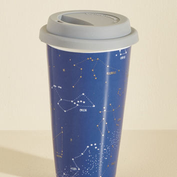 Cassiopeia of This, Drink of That Travel Mug | Mod Retro Vintage Kitchen | ModCloth.com