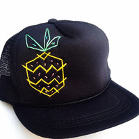 Piña Colada Trucker Hat by Roupolimama