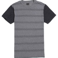 KR3W Triad Stripe T-Shirt - Mens Tee - Grey