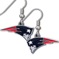 NFL New England Patriots Dangle Earrings