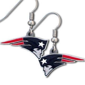 patriots earrings nfl new patriots dangle earrings from 7331