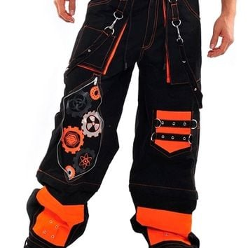 Amok Orange Gear Pants : Cyber Rave Pants and Clothing