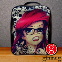 Ariel Tattoo The Little Mermaid Backpack for Student