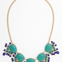 Junior Women's BP. Crystal & Bead Statement Necklace