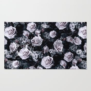 Dark Love Rug by RIZA PEKER