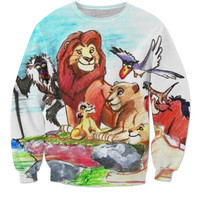 Lion King Art Sweatshirt