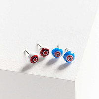 Dale Glass Bead Post Earring Set - Urban Outfitters