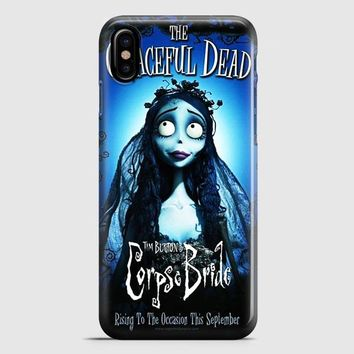 Tim Burton Corpse Bride Cover iPhone X Case | casescraft
