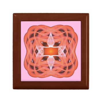 Sacred Geometry Jewelry Box