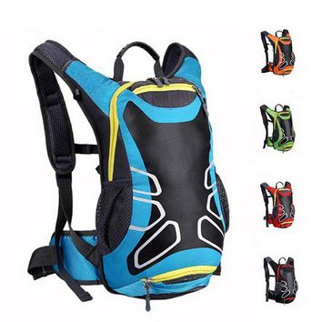 ONETOW 15L Unisex Waterproof Nylon Cycling Bag Road/Mountain Bike Sport Running Backpack Outdoor Hiking Sports Backpacks Large Capacity
