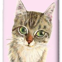 A Thinking Cat iPhone 6 Case