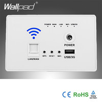 Hot Au Us 118 Standard White Usb Socket Wall Embedded Wireless Ap Router Phone Wall Charger3G Wifi Usb Charging Socket Panel